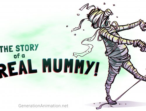 The Story of a Real Mummy! Halloween Handout